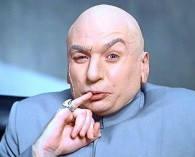 Mike Myers as Dr Evil in Austin Powers